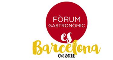 FÒRUM GASTRONÒMIC BARCELONA 2016