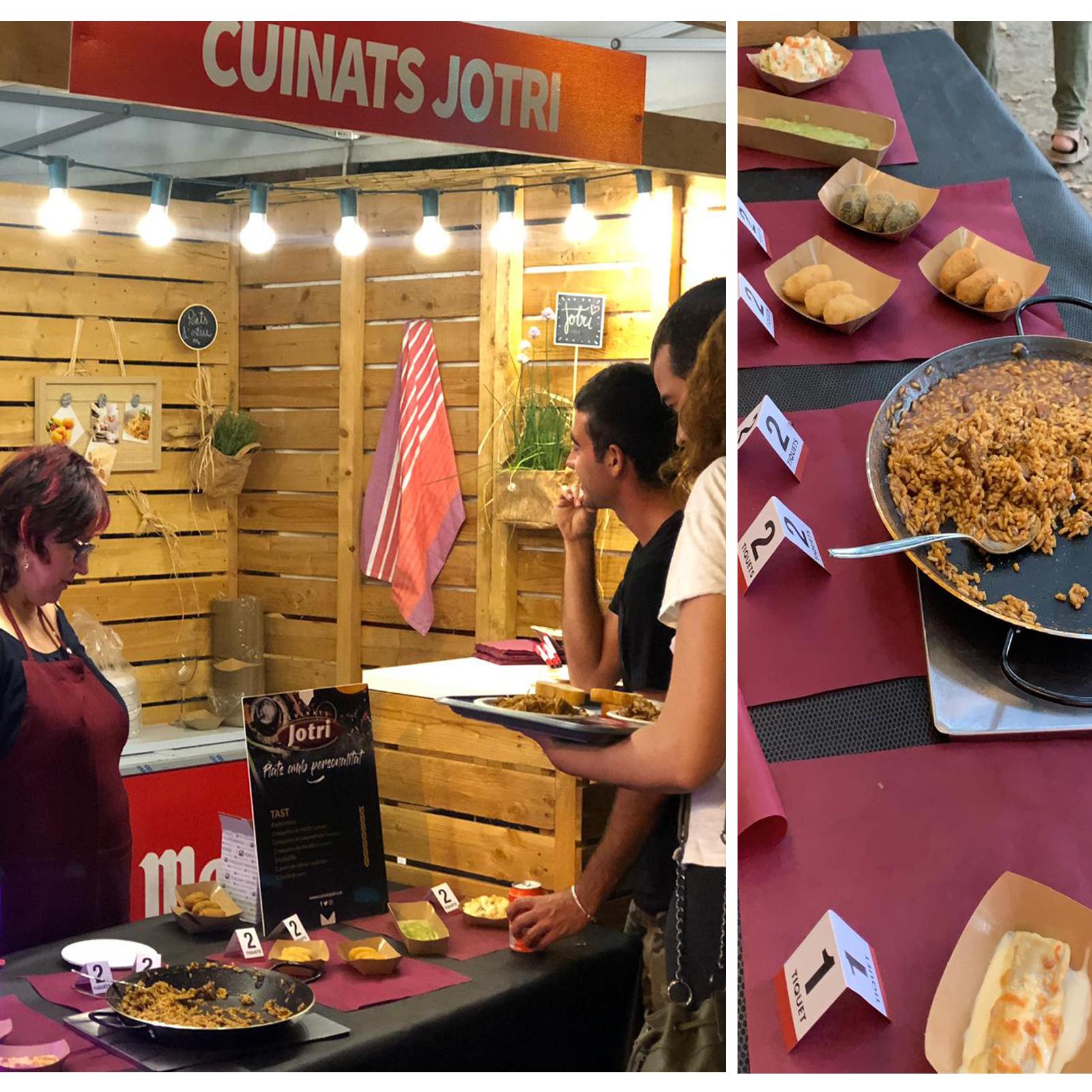 Cuinats Jotri al Fira Tast de verano en Girona