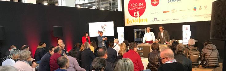 Entrevista radiofónica a Cuinats Jotri desde el Fòrum Gastronòmic