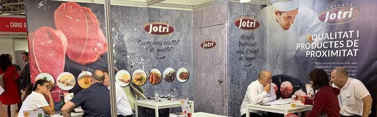 Buena valoración de la presencia de Cuinats Jotri en la Feria iMeat