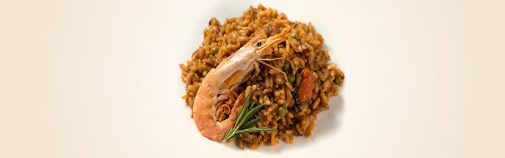 Disponible la paella mixta en la carta de platos frescos