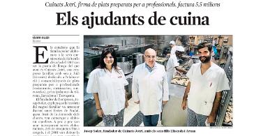 La Vanguardia dedica un reportaje a Cuinats Jotri