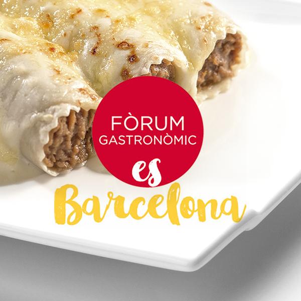 ¡Te esperamos en el Fòrum Gastronòmic!