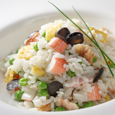 Ensalada de arroz Thai jazmín