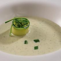 Crema de carbassó i kale