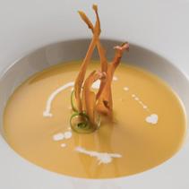 Crema de carbassa i moniato