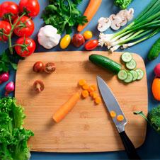 Mandonguilles amb verdures