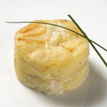Milhojas de patata