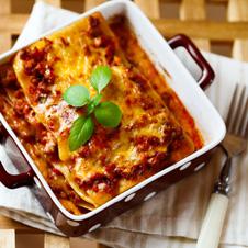 Relleno - salsa boloñesa