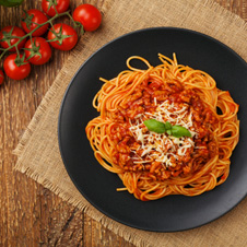Salsa boloñesa estilo italiana