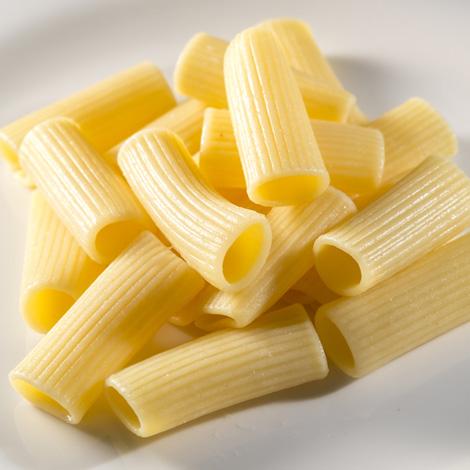 Pasta de rigatone precocida