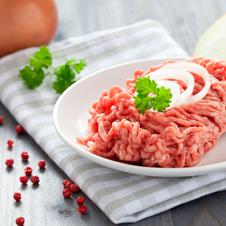 Berenjena rellena de carne