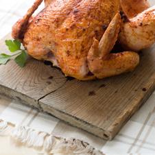 Canelones de pollo de corral asado con bechamel de cebolla asada