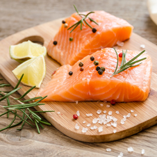 Canelones de salmón de Noruega con espinacas sin bechamel