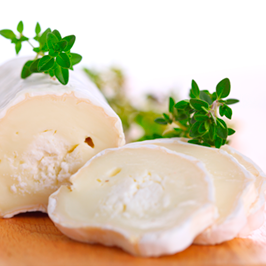 Croquetón de setas y queso de cabra