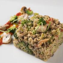 Quinoa real con verduras