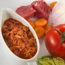 Salsa bolonyesa estil italiana